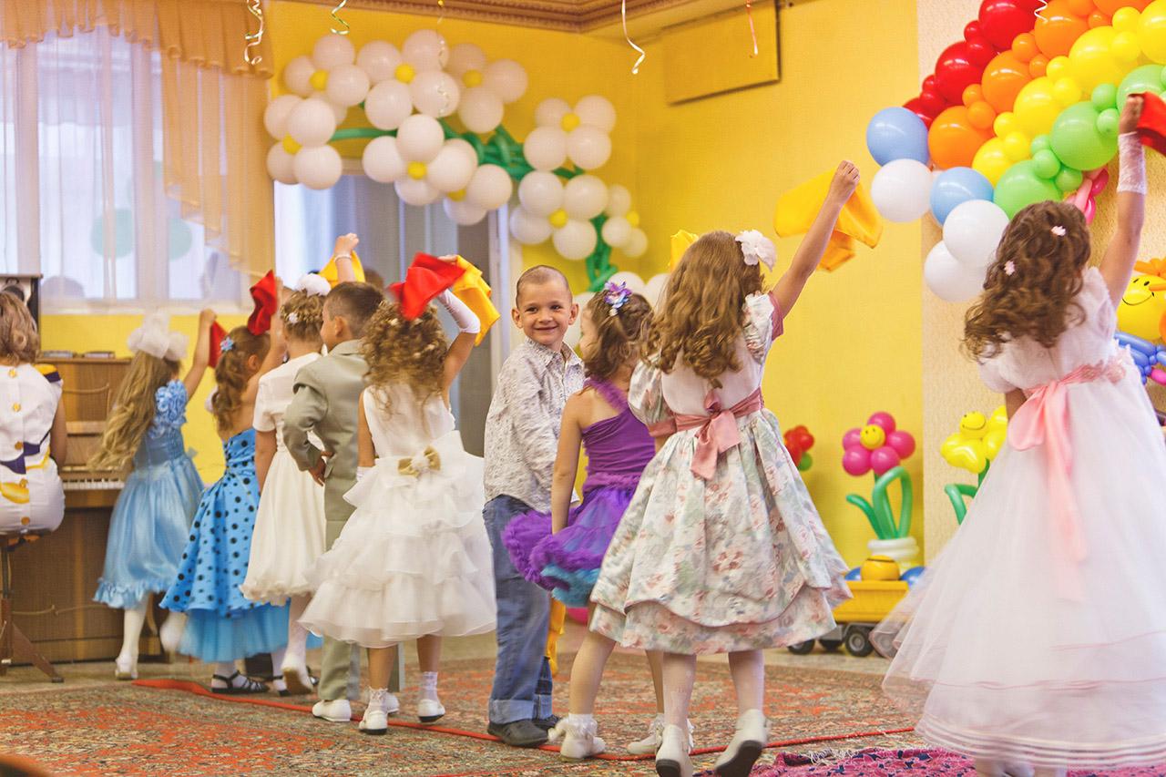 Выпускной вечер в детском саду
